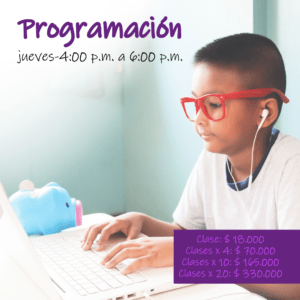 Curso programación ExperienceSTEAM